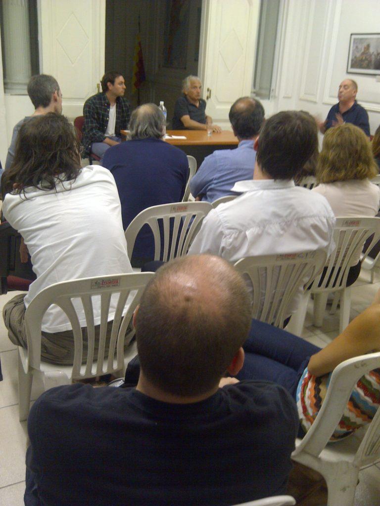 presentación Che Guevara, en la Constituyente Social